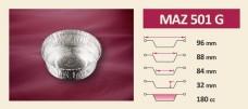ПАК СЕЙФ - Продукти - Алуминиеви форми MAZ 501 G