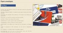 ПАК СЕЙФ - Продукти - Специализирани пликове и пломби - Flyers envelopes